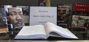 Martin Luther King, Jr. Book Display