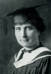 Elizabeth Logan in her graduation year of 1923